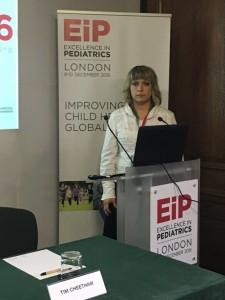 Dr.sc. Andrea Polovina - predavanje na temu rehabilitacije rijetkih bolesti, Excellence in pediatrics 2016, London