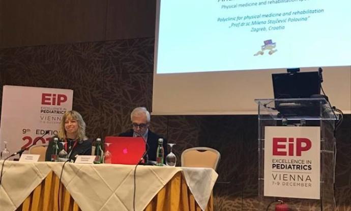 Dr.sc. Andrea Polovina predaje o motoričkom razvoju djeteta na Excellence i pediatrics 2017